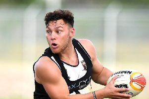 Lachlan Lam has a chance of playing against Wigan