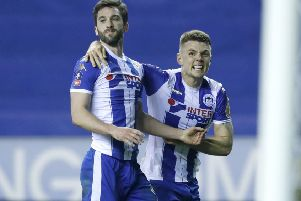 Will Grigg, with Max Power