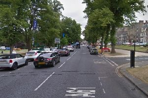 West Park in Harrogate saw the most fines issued last year for on-street penalties