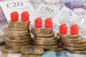 Property prices have risen slightly in Derbyshire