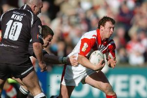 Micky Higham in his St Helens days