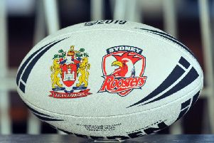 Wigan Warriors will face the Sydney Roosters at the DW Stadium tomorrow