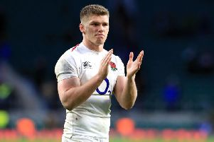 Owen Farrell is Sean O'Loughlin's nephew