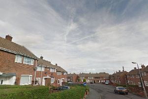 Fern Crescent in Parkside, Seaham. Image copyright Google Maps.