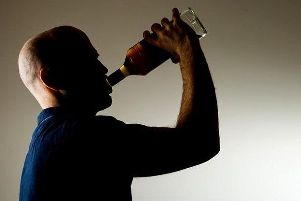 Alcohol-related hospital admissions are generally down