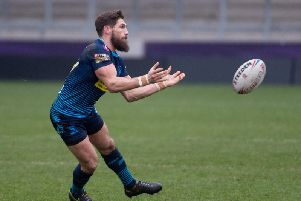 Jarrod Sammut was banned for two games for making contact with a referee during a friendly at Salford