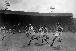 Billy Boston in action at Wembley