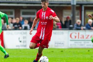 Elliott Reeves scored twice for the Robins.