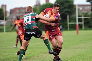 Wigan St Judes in action. Photo: Brian King