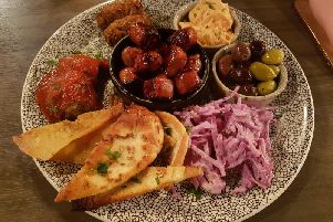 The Greek Platter for two (Images: JPIMedia)