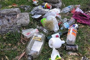 A correspondent says rather than 'going on strike' youngsters should stop throwing litter.