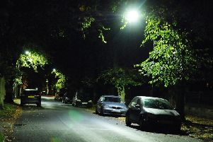 LED lighting has been fitted across the boroughs streets