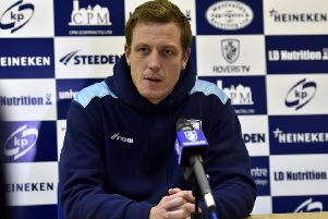 Featherstone Rovers head coach, Ryan Carr