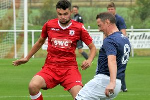 Longridge Town picked up three points with a win against Steeton on Saturday