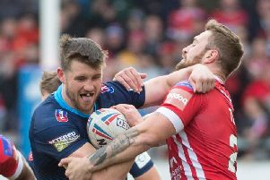 Joe Bullock was charged after the Salford game