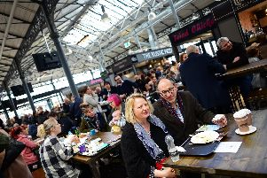 Doncaster Wool Market, officially opens after being redeveloped. Picture: Marie Caley