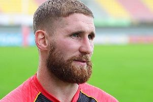 Sam Tomkins is set to face Wigan for the first time