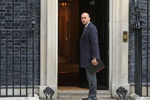 Chuka Umunna arrives for a serious youth violence summit in Downing Street