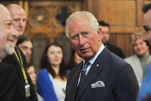 Prince Charles in Wigan