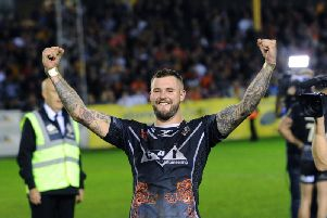 Zak Hardaker was a fans' favourite at Castleford before his ban