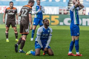 Chey Dunkley can't believe he hasn't scored against Brentford