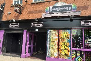 The former Bamboogy Nightclub