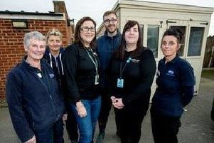 12 February 2019.'Amazon Doncaster have made a donation to the RSPCA Doncaster, Rotherham and District branch.'From the left are, Lesley Wharton, Hollie Benton, Gill Fedorov (Amazon), Daniel Cartwright, Emma Bramham (Amazon) and Laura Bullock.