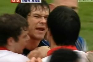 Andy Farrell's scrap with Paul Sculthorpe
