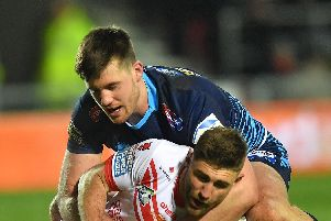 Joe Greenwood played against St Helens in round one