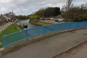 A man's body was found in the canal near Appley Lane