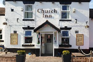 The Church Inn - offering a pub lunch for just a pound!
