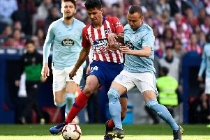 Spanish midfielder Rodri, who is a �60m transfer target for Manchester City, according to today's rumour mill. (PHOTO BY: Pierre-Philippe Marcou/Getty Images)