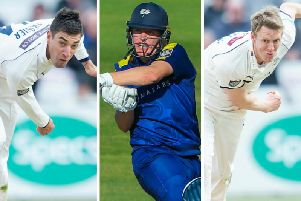 Duanne Olivier, Gary Ballance and captain Steve Patterson have all enjoyed solid starts to the 2019 season for Yorkshire.