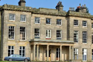 Haigh Hall which has caused concern among campaigners who have reservations about what is going on there