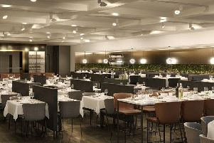 An artists impression of the new dining area