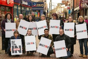 Keeping Our Town In Focus campaigners are fighting to protect Sutton town centre.