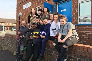 These young Wiganers are making a film to highlight the dangers of anti-social behaviour