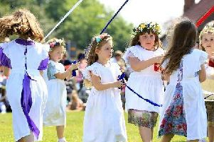 Last year's Wellow Maypole celebrations
