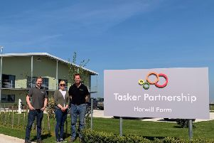 Russell Till from Dolphin ICT and Jenny and Stephen Tasker from Tasker Partnership.
