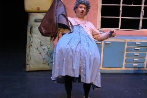 There Was An Old Lady Who Swallowed A Fly, presented by The People's Theatre Company.