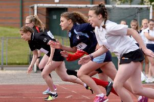 All competitors entered a sprint race as well as the 800m and a jumping and throwing event