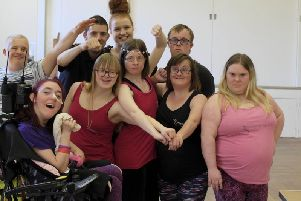 Members of the DanceSyndrome team