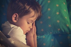 How many hours a child gets of sleep, as well as the quality of that sleep, can lead them to becoming obese later in life (Photo: Shutterstock)