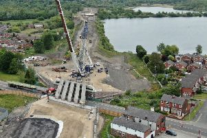 A drone picture of the project taken by reader Brian King