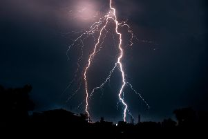 The Met Office has issued a yellow weather warning for thunderstorms to Wigan, as torrential rain and lightning are set to hit.