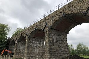 Capernwray viaduct has been given a facelift