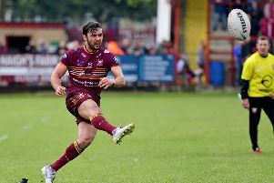 Louis Jouffret kicked three conversions as Batley lost away to Widnes last Friday.