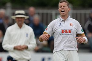 Peter Siddle claimed three wickets as Essex took charge against Notts.