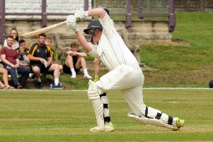 Ben Perry-Taylor, who has hit a rich vein of form for Wirksworth and Middleton.