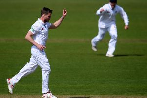 Luis Reece was in top form as Derbyshire fought back against Worcestershire